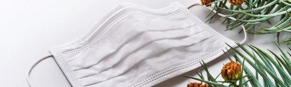 花粉症対策用マスクやハーブの画像です