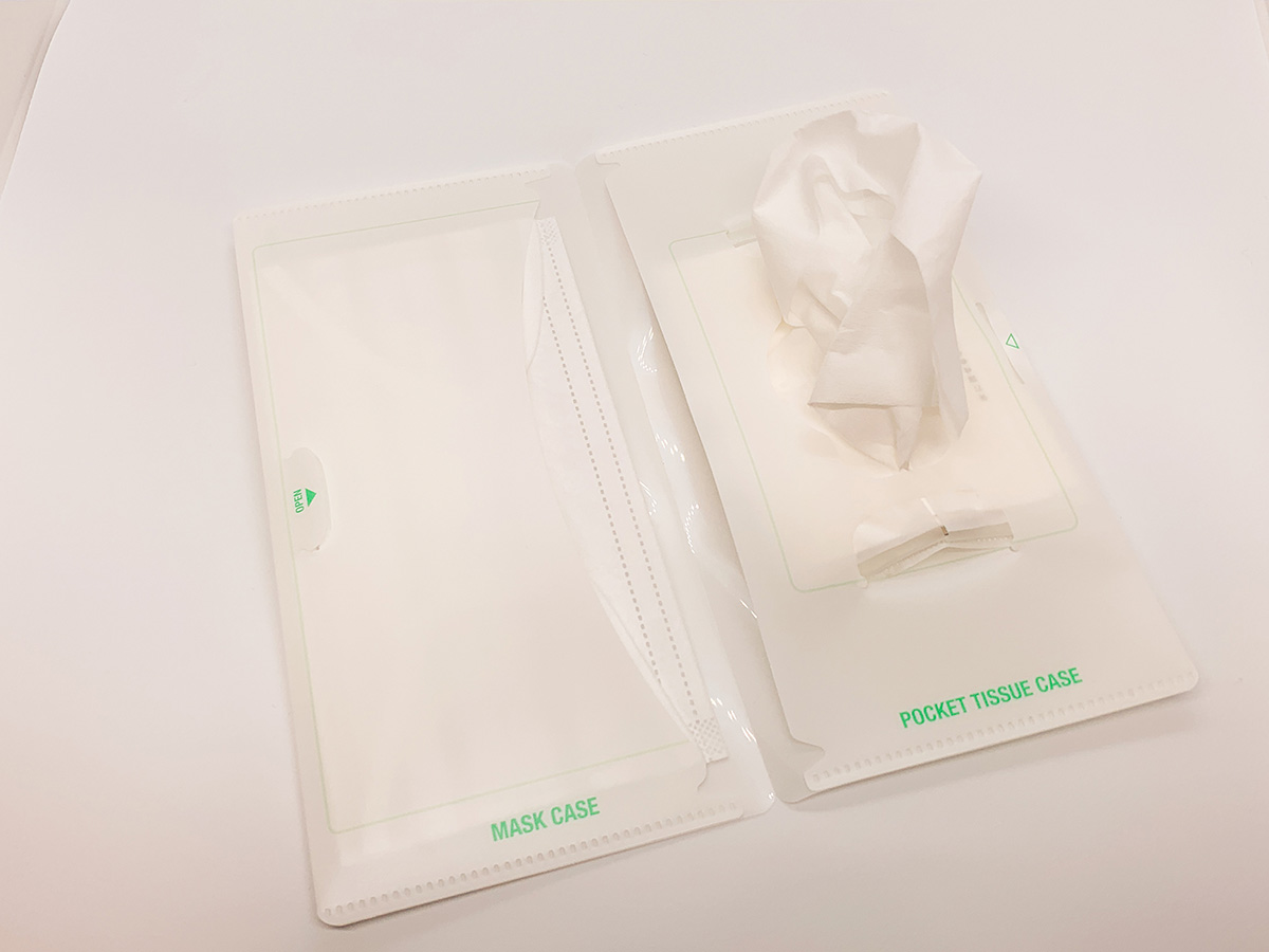 新型コロナウイルス対策にぴったりなマスクケースの写真3