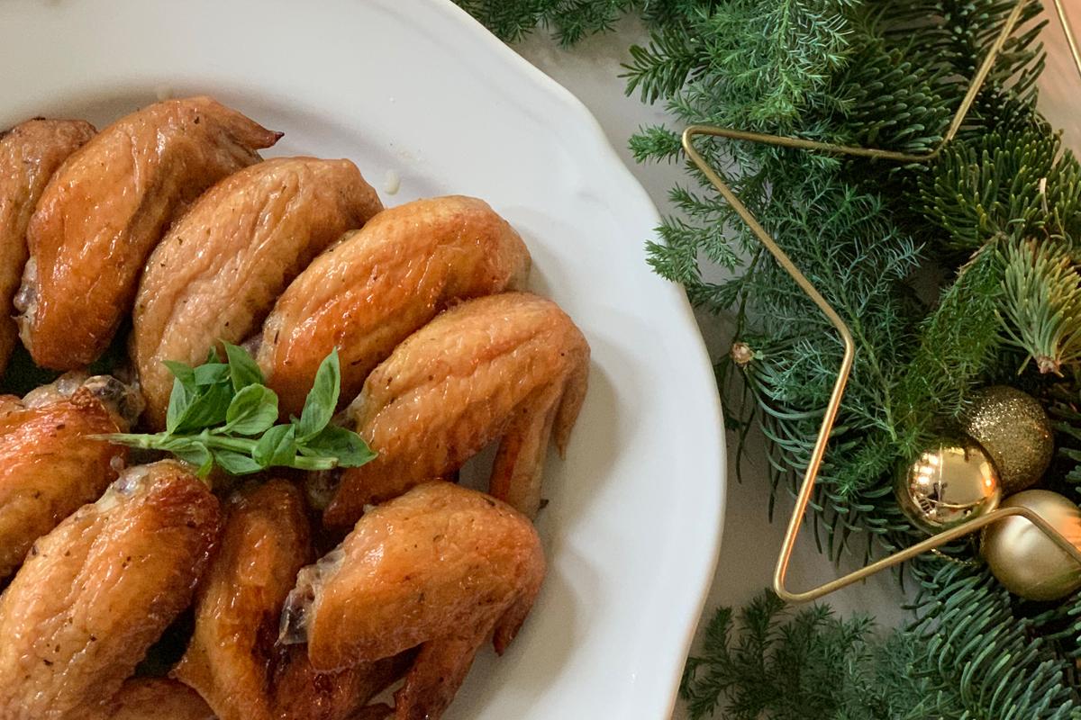 CHRISTMAS RECIPE① | ハーブ香るグリルチキン